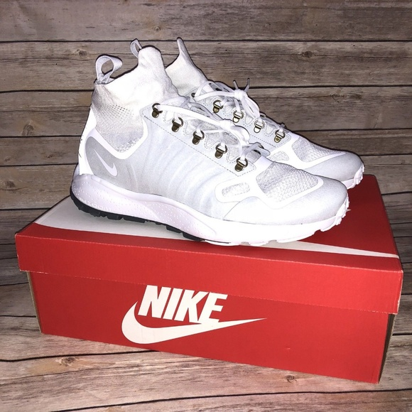 e267b87fee60 Nike Zoom Talaria Mid Flyknit Shoes - White Sz 11
